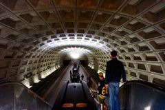 Metro Station DC Stock Photography