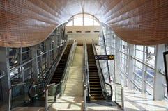 Metro Station in Dubai Stock Photos