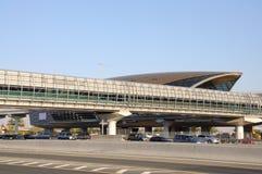 Metro Station in Dubai Royalty Free Stock Photos