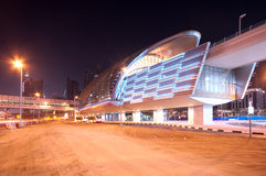 Metro station  Dubai Stock Photography