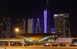 Metro station in Dubai Stock Images