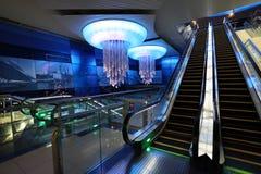 Metro Station in Dubai Stock Image