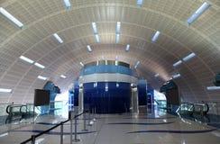 Metro Station in Dubai Stock Photo