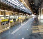 The metro station Stock Photo
