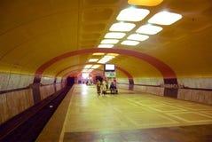 Metro station Kanavinskaya in Nizhny Novgorod Stock Photography