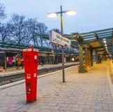 Metro Station Kellinghusen Strasse Stock Photos
