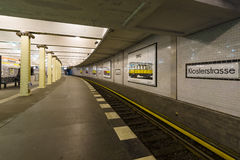 Metro station Klosterstrasse. Royalty Free Stock Photo