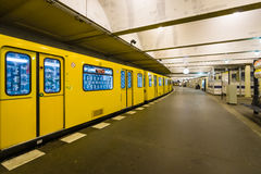 Metro station Klosterstrasse. Berlin Royalty Free Stock Photography