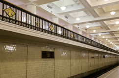 Metro station Komsomolskaya(Sokolnicheskaya Line) in Moscow, Russia Royalty Free Stock Image
