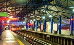 Metro station in Kuala Lumpur, Malaysia. Metro station in Kuala Lumpur, the capital of Malaysia royalty free stock image