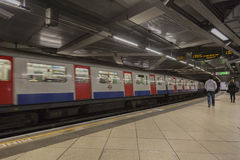Metro station in London Royalty Free Stock Photography