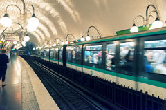 Metro station in Paris Stock Photos
