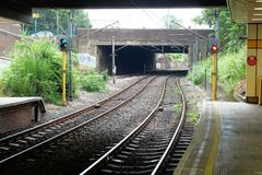 Metro station. Photo set from my visit to York Stock Photography