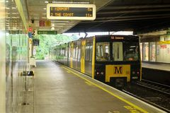 Metro station. Photo set from my visit to York Stock Images