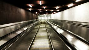 Metro station. Stairs to the Metro station underground tube Stock Photography