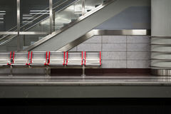 Metro Station Royalty Free Stock Photography