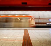 Metro Station Royalty Free Stock Photos