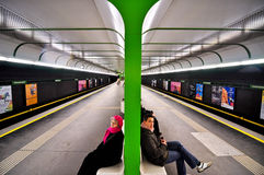 Metro station in Vienna Stock Photography