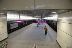 Metro station in Vienna. Stock Image