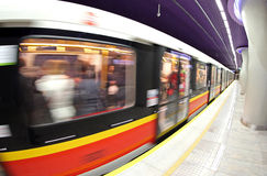 Metro station in Warsaw, Poland Stock Photos