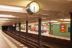 Metro station wittenbergplatz in berlin Royalty Free Stock Image
