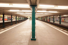 Metro station wittenbergplatz in berlin Royalty Free Stock Photos