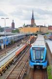 Metro in Stockholm Royalty-vrije Stock Foto