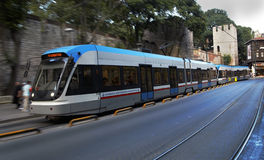 Metro street car Istanbul Infrastructure Stock Photography