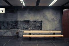 Metro subterrâneo Éstocolmo Fotografia de Stock Royalty Free