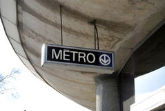 Metro/Subway Royalty Free Stock Image