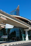 Metro subway station in Dubai United Arab Emirates Royalty Free Stock Image