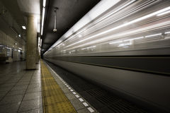 Metro Subway Royalty Free Stock Photography