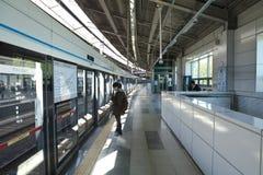 Metro systeem Seoel, Zuid-Korea Royalty-vrije Stock Foto's