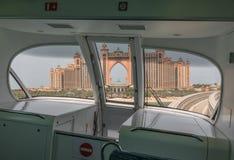 The metro system of Dubai, UAE stock images