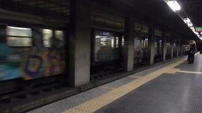 Metro Tiburtina stacja zbiory wideo
