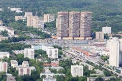 Metro Timirjazevskaja, uiteindelijk platform van monorail royalty-vrije stock fotografie