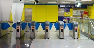 Metro-Tor Lizenzfreies Stockfoto