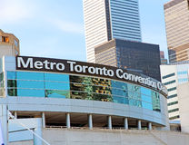Metro Toronto Convention Centre. The Metro Toronto Convention Centre is a convention complex located in downtown Toronto. It has hosted many large scale events royalty free stock image