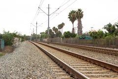 Metro Tracks Stock Photo