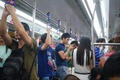 Metro traffic Stock Photo