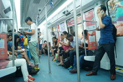 Metro traffic Royalty Free Stock Photography