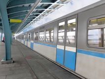 Metro train Royalty Free Stock Image