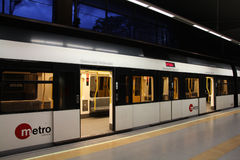 Metro train royalty free stock photo