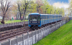 Metro train Royalty Free Stock Images
