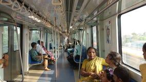 Metro train royalty free stock photography