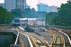 Metro train Singapore Stock Photo