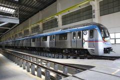 Metro Train station Royalty Free Stock Photos