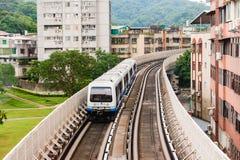 Metro train Stock Photography