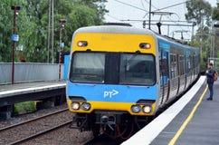 Metro Trains Melbourne Stock Photo