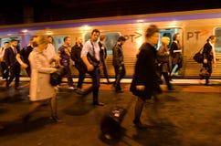 Metro Trains Melbourne Royalty Free Stock Photos